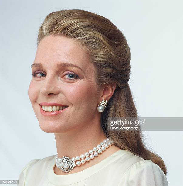 Queen Noor of Jordan the wife of King Hussein circa 1980