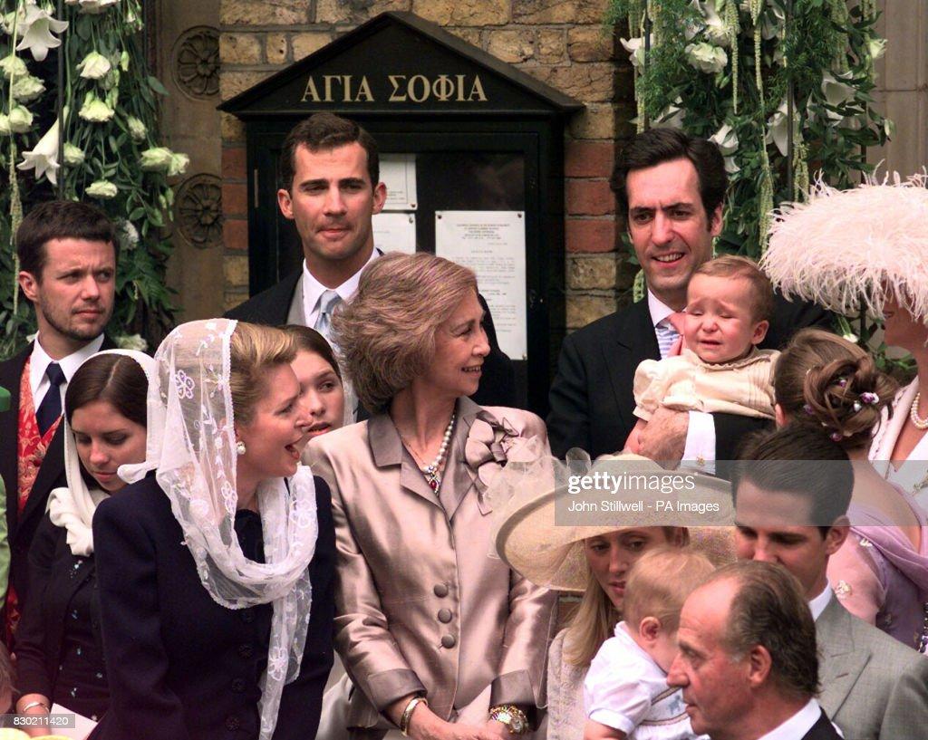 Wedding/Queens/Baby Cries : News Photo