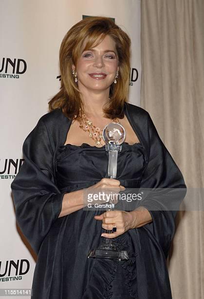 Queen Noor of Jordan, World Tolerance Award during The 2006 Women's World Awards - Media Room at The Hammerstein Ballroom in New York City, New York,...