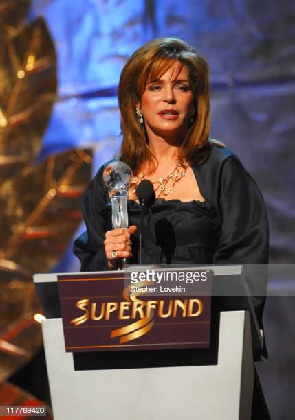 Queen Noor of Jordan World Tolerance during The 2006 Women's World Awards Show at The Hammerstein Ballroom in New York City New York United States