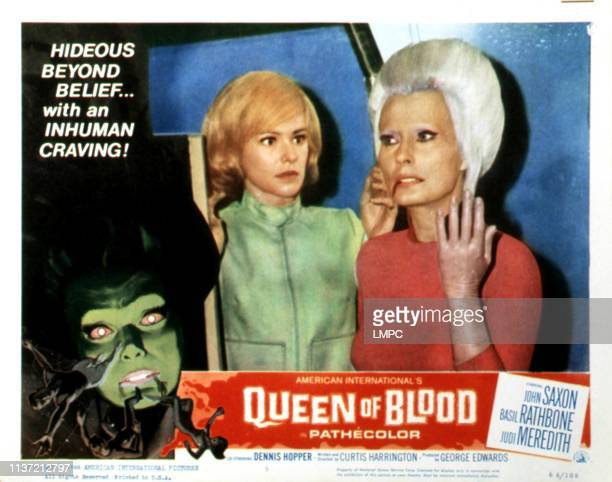 Queen Of Blood poster lobbycard Judi Meredith Florence Marley 1966