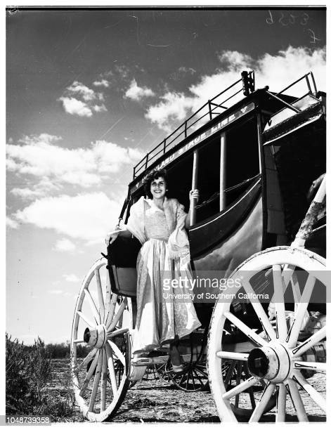 Queen of Calexico cavalcade 21 March 1952 Louise Taylor 17 years Ernesto ChavezGeorge HillWalter Bowker Benjamin Trevino Mayor W Osborn Licenciado...