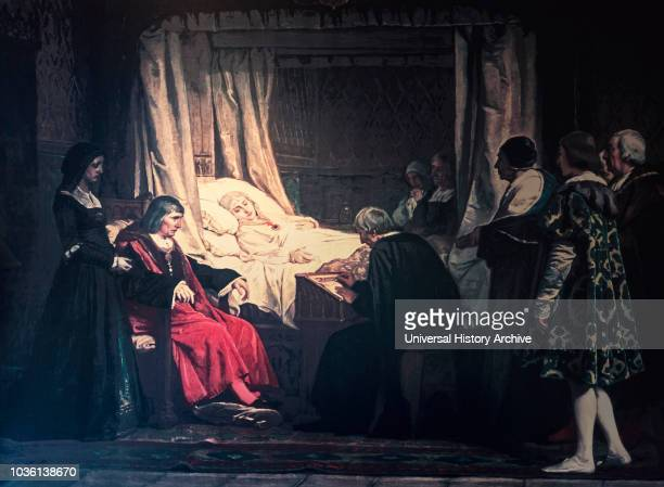 Queen of Castile After after a painting by Spanish artist Eduardo Rosales Gallinas 18361873