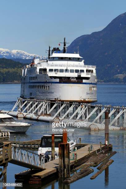 queen of cowichan - ferry stock pictures, royalty-free photos & images