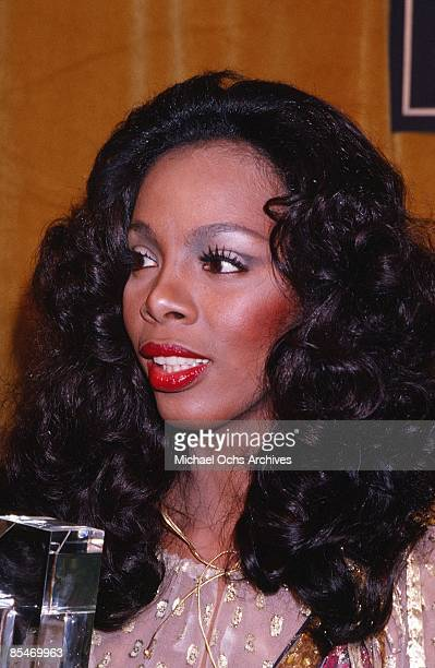 Queen of Disco Donna Summer attends the 'Billboard Number 1 Music Awards' in circa 1980