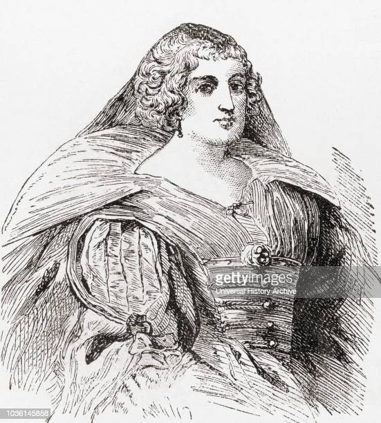 Queen of France as the second wife of King Henry IV of France From Ward and Lock's Illustrated History of the World published c1882