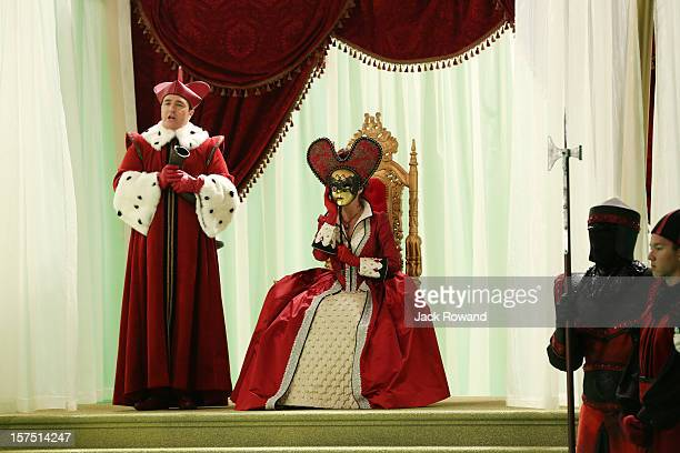 TIME 'Queen of Hearts' Cora and Hook face off with Mary Margaret and Emma in a race to secure the compass which will point its holder to the portal...