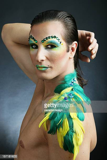 queen of the night - transvestite stock photos and pictures