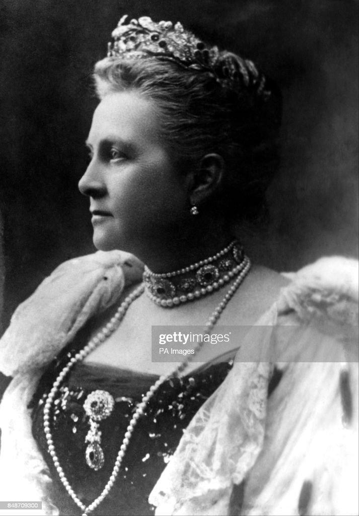 World War One - Queen Olga of Greece : News Photo