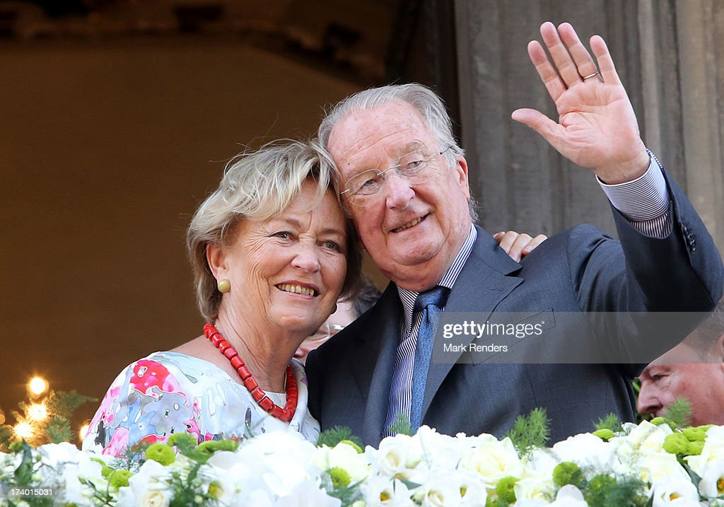 King Albert II of Belgium And Queen Paola Visit Liege