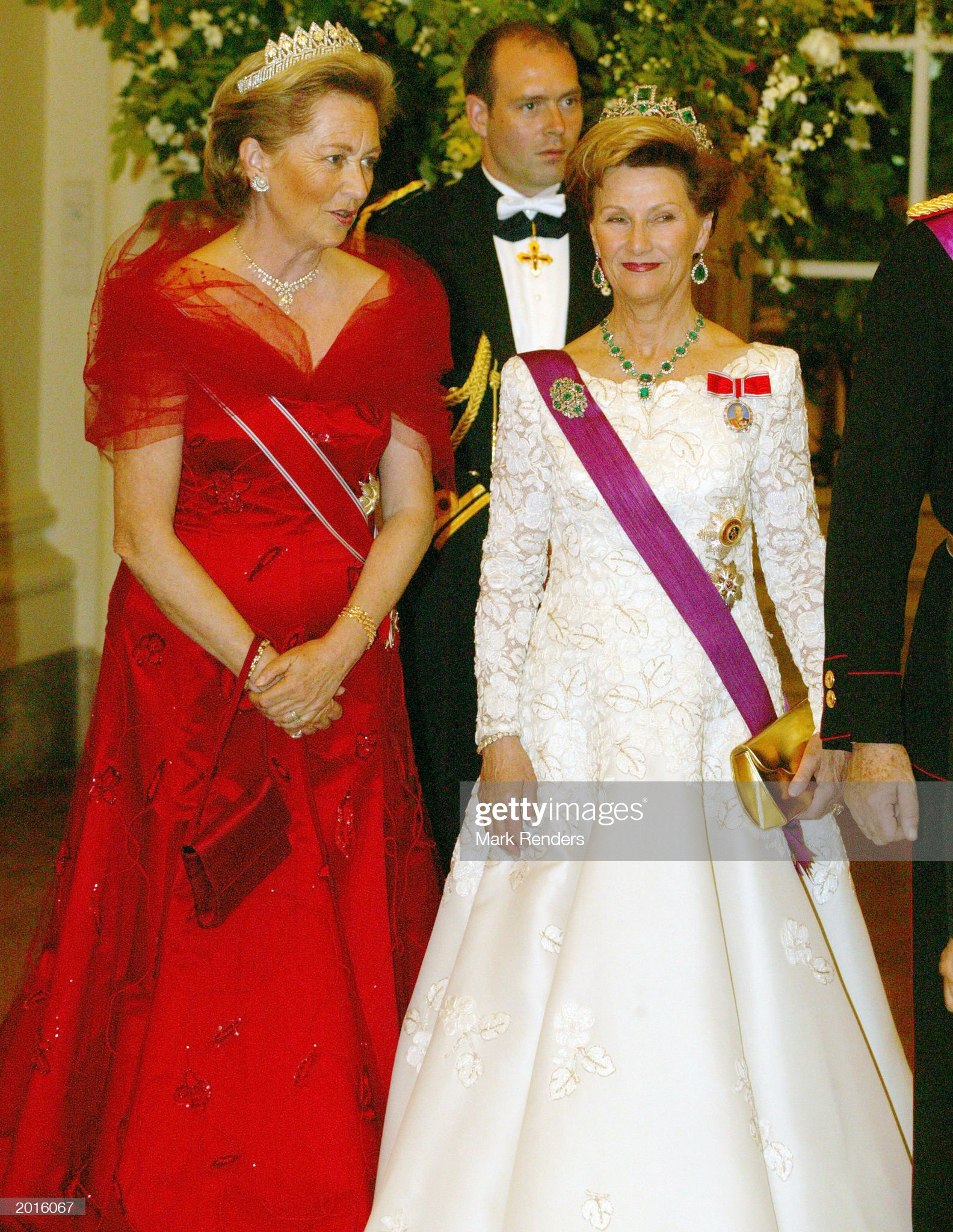 Norwegian Royals Make State Visit To Belgium  : News Photo