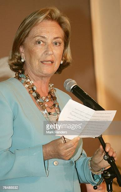 Queen Paola from Belgium assists a party for her 70th birthday at Laeken Castle on September 02 2007 in the Belgian Capital Brussels Queen Paola from...