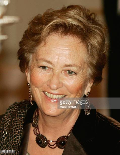 Queen Paola has lunch before opening of an exhibition celebrating 100 years since Queen Astrid's birth at the Royal Palace on November 17 2005 in...