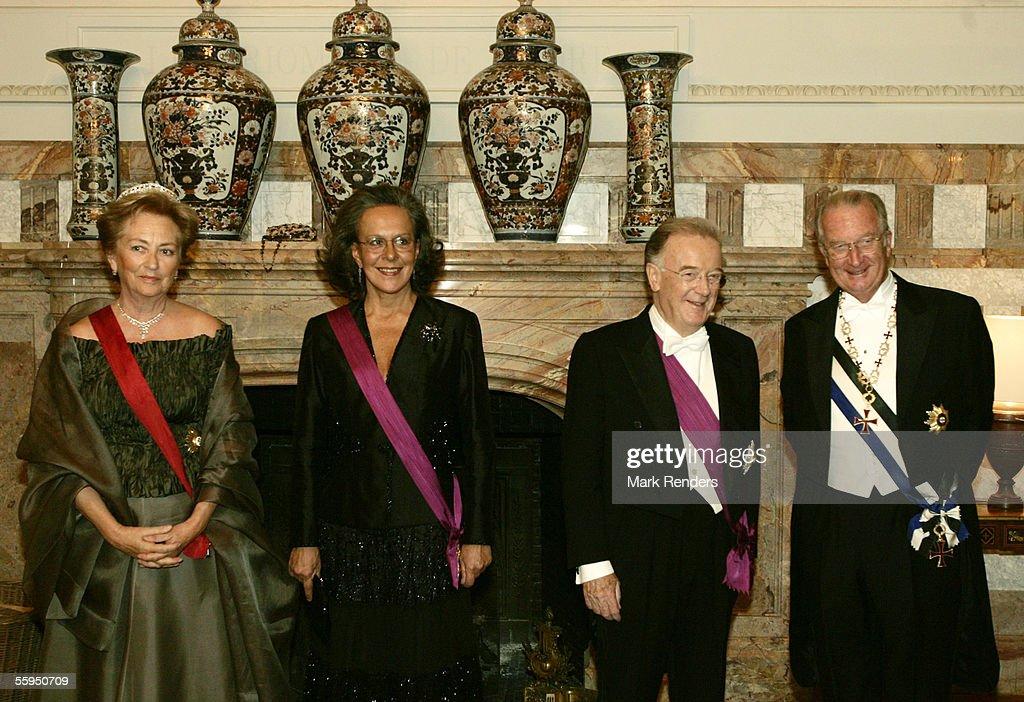 Portuguese State Visit to Belgium : News Photo