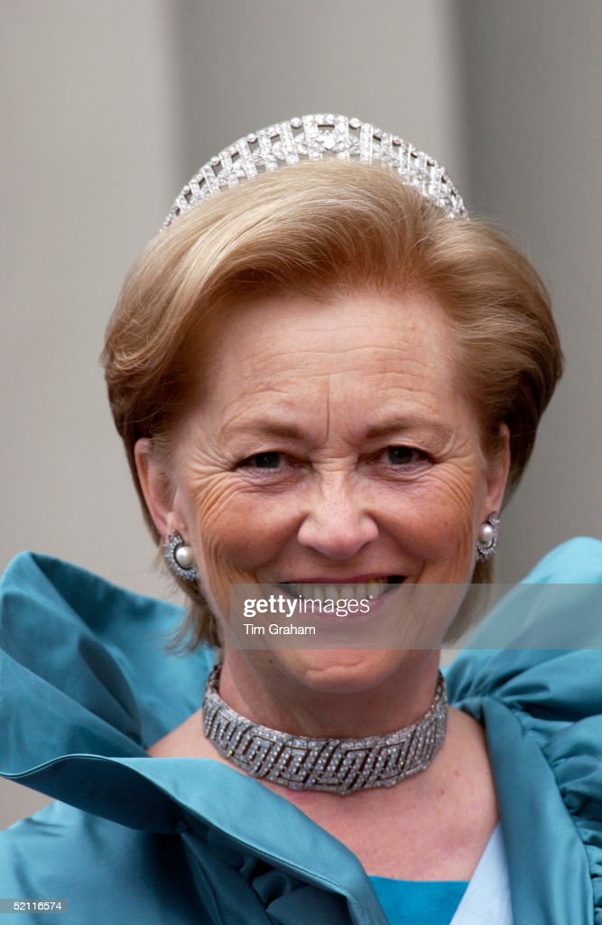 Queen Paola Of Belgium At The Royal Wedding In Copenhagen Cathedral