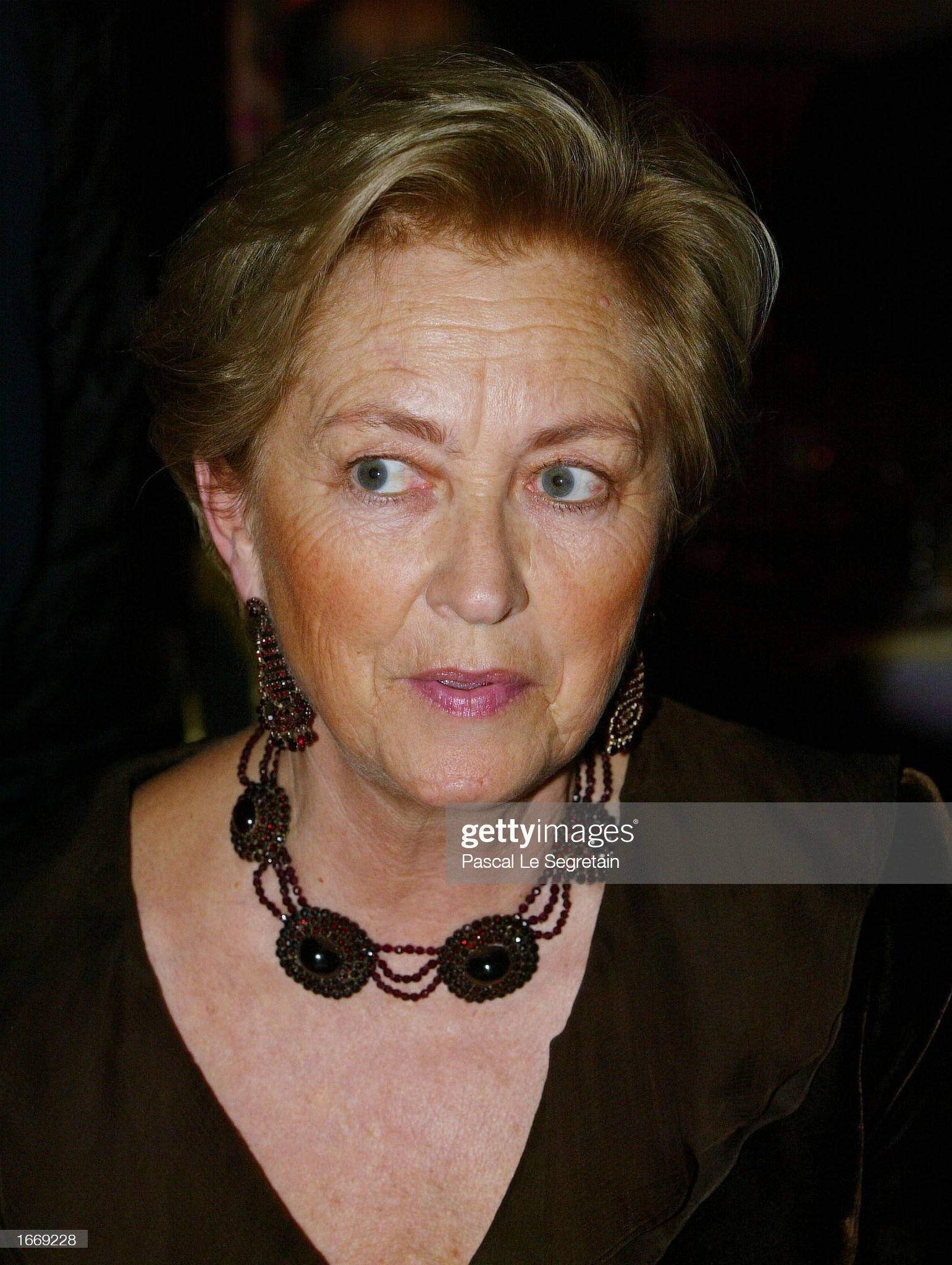 Queen Paola Of Belgium Attends Child Abuse Foundation Gala : News Photo