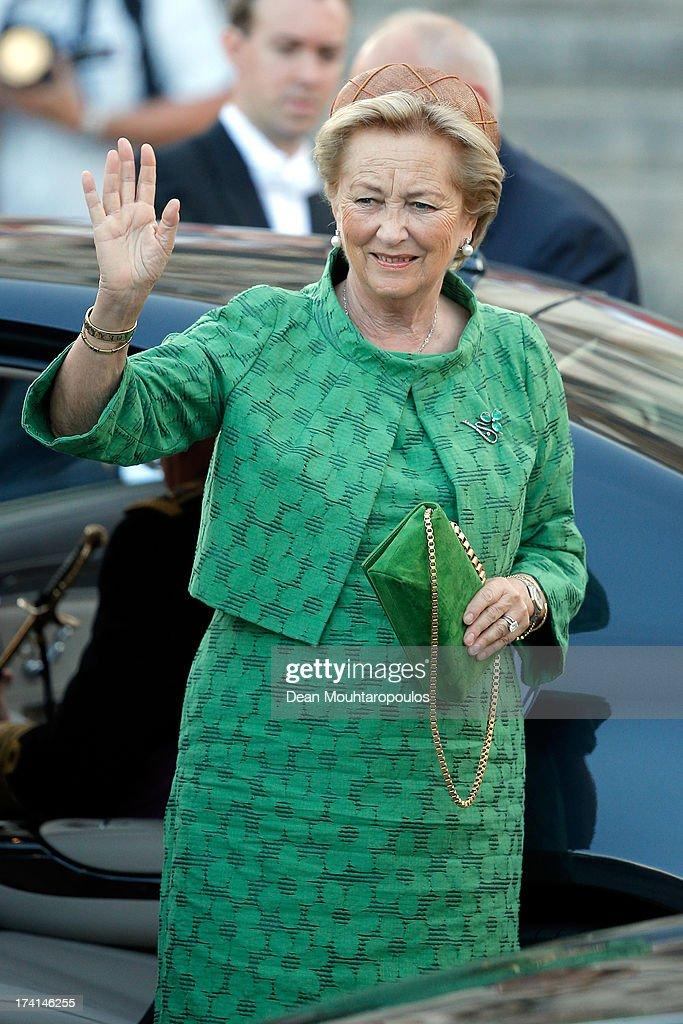 Abdication Of King Albert II Of Belgium, & Inauguration Of King Philippe : News Photo