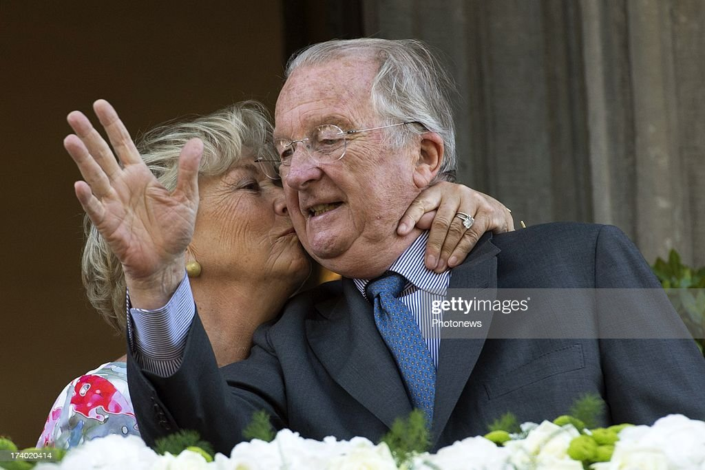 King Albert II and Paola Visit Liege