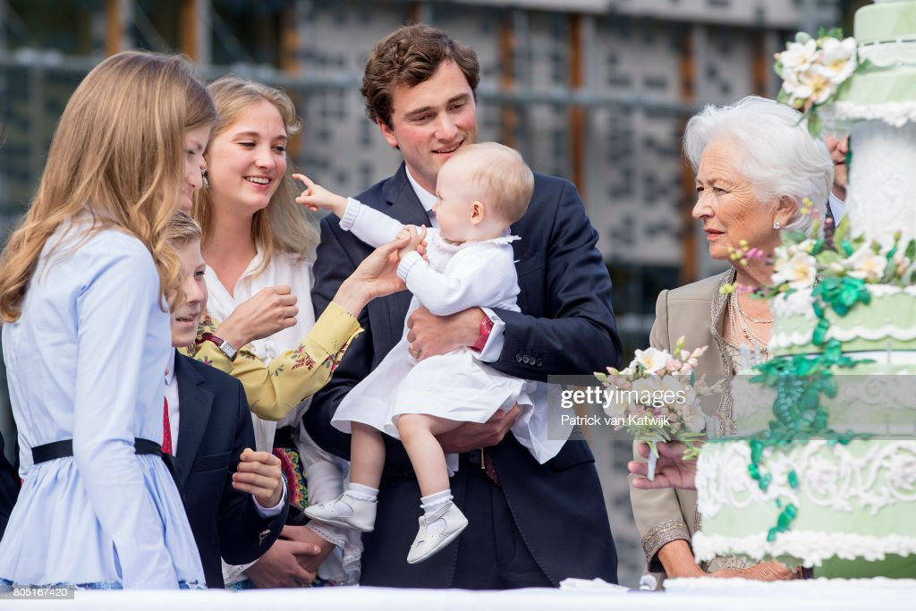 Queen Paola Of Belgium Celebrates Its 80th Anniversary : News Photo
