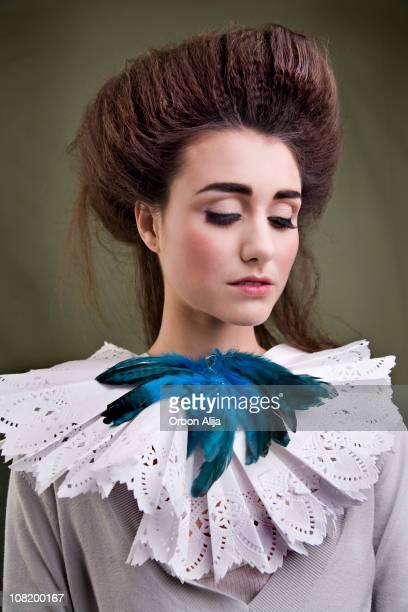 lit queen (grand lit) - edwardian fashion photos et images de collection