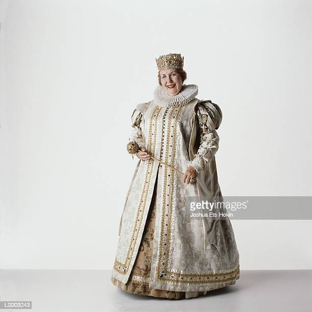 queen - elizabethan style stock photos and pictures