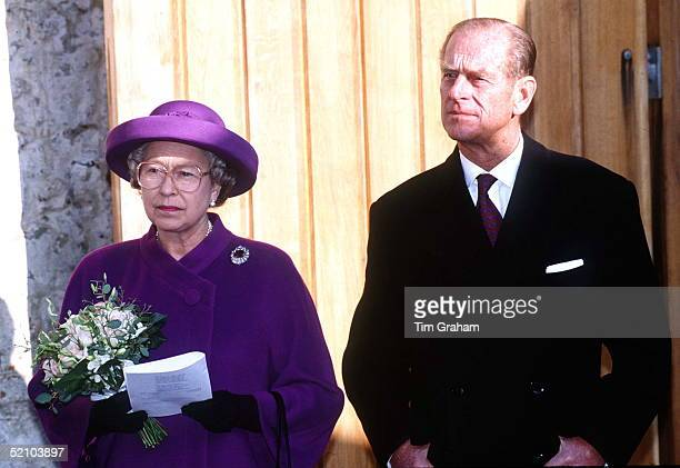 Queen Prince Philip In Winchester