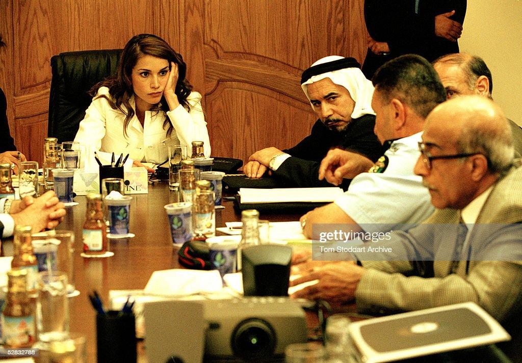 Queen Rania of Jordan : News Photo