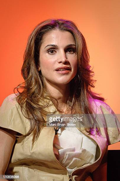 Queen Rania of Jordan attends day 1 of the 'Women In The World Stories and Solutions' Summit at Hudson Theatre on March 13 2010 in New York City