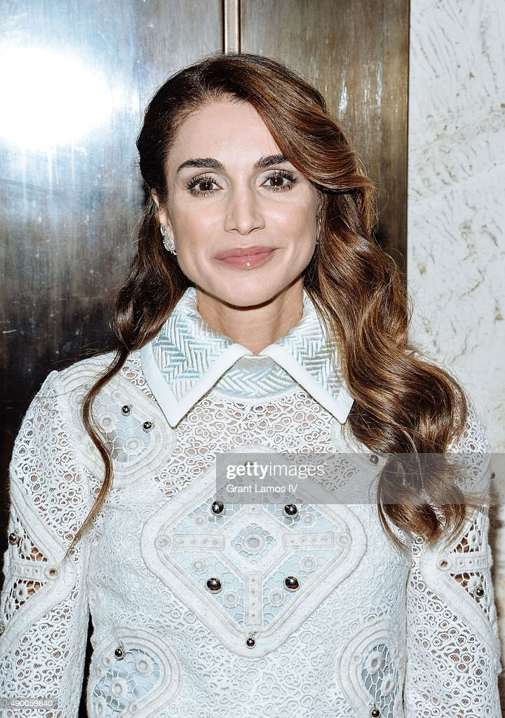 Queen Rania of Jordan attends the UN Foundation's Gender Equality Discussion at The Four Seasons Restaurant on September 25, 2015 in New York City.