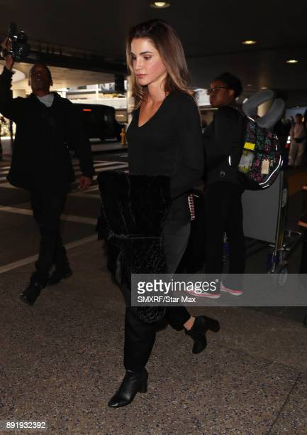 Queen Rania of Jordan is seen on December 13 2017 in Los Angeles CA