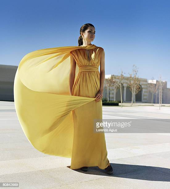 Queen Rania of Jordan poses for a portrait shoot for Harpers Bazaar magazine on January 17 2008