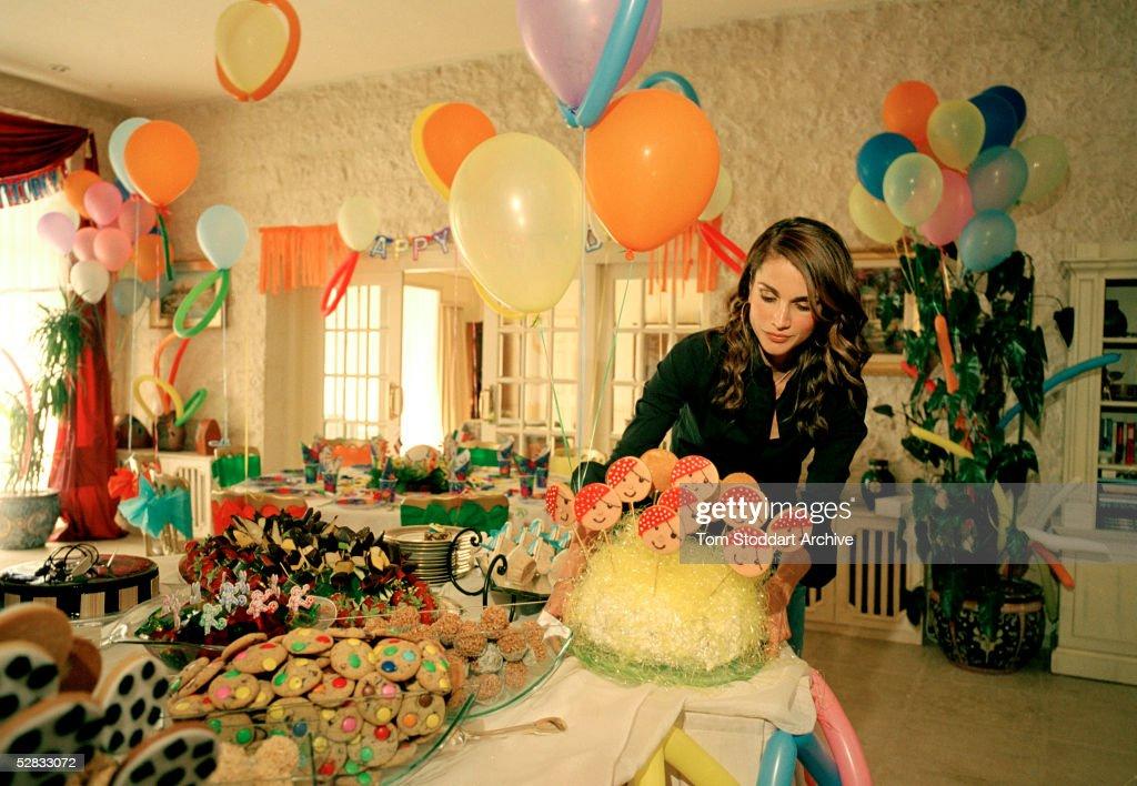 Queen Rania of Jordan Pictures Getty Images