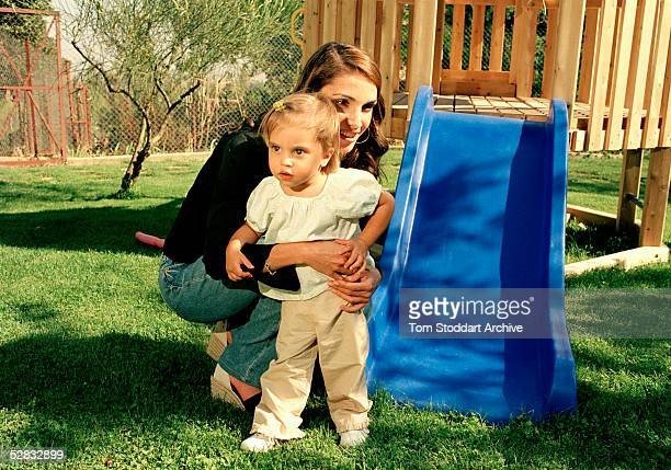 Queen Rania pictured with her daughter Princess Salma Queen Rania AlAbdullah was born in Kuwait on August 31 1970 Queen Rania married King Abdullah...