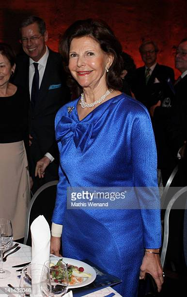 Queen Siliva of Sweden attends the 'Steiger Awards Dinner Party' at Jahrhundert Halle on March 17 2012 in Bochum Germany