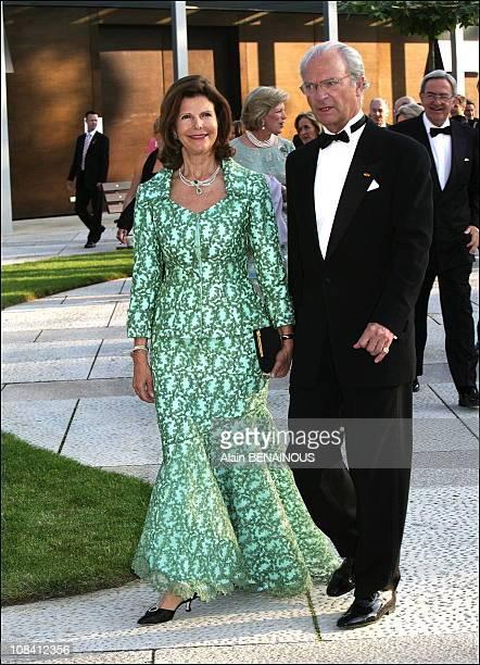 Queen Silvia and King Carl Gustaf of Sweden The festivities marking the 25th wedding anniversary of Grand Duke Henri and Grand Duchess Maria Teresa...