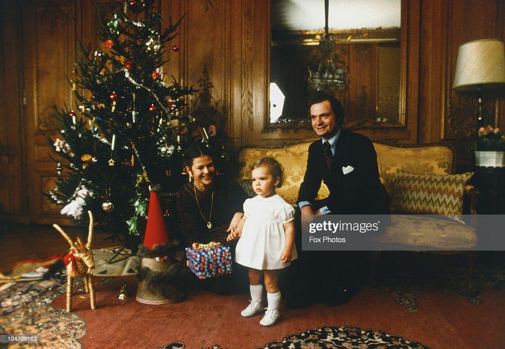 Swedish Royals At Christmas : News Photo