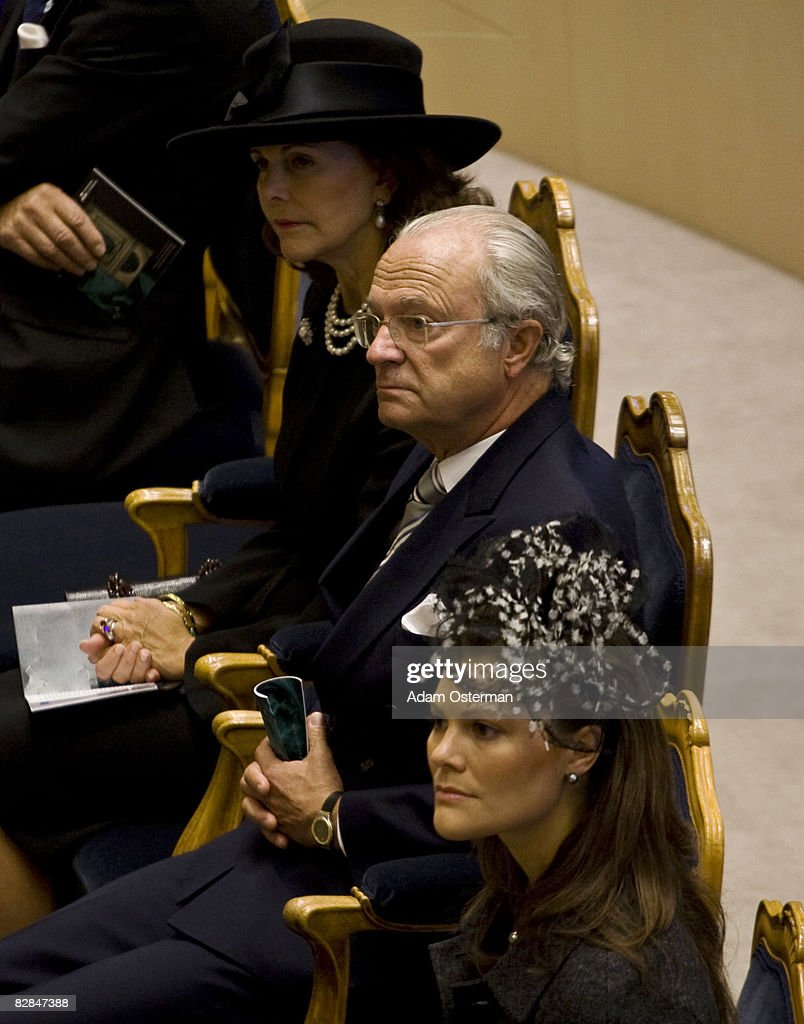 Opening Of New Parliamentary Session At The Riksdag In Stockholm : News Photo