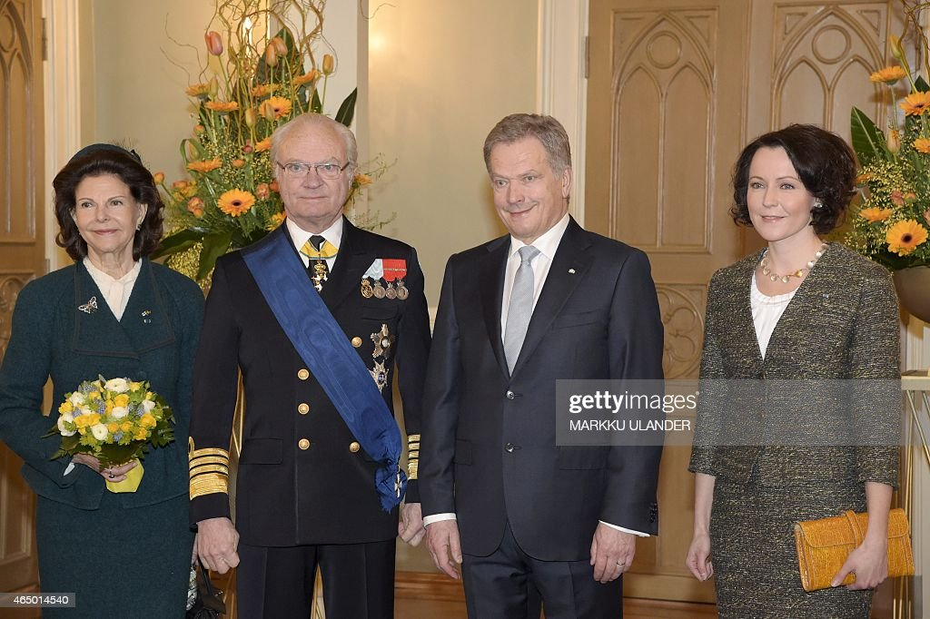 FINLAND-SWEDEN-DIPLOMACY : News Photo