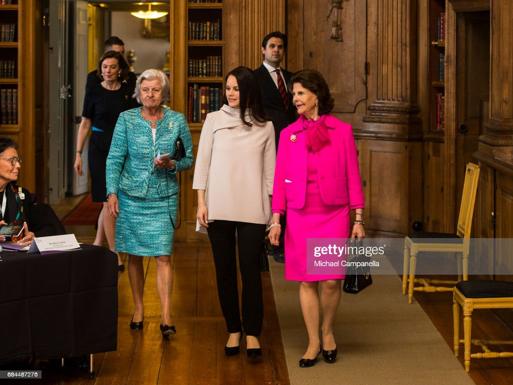 Royals Attend Dementia Forum X At Stockholm Royal Palace : News Photo