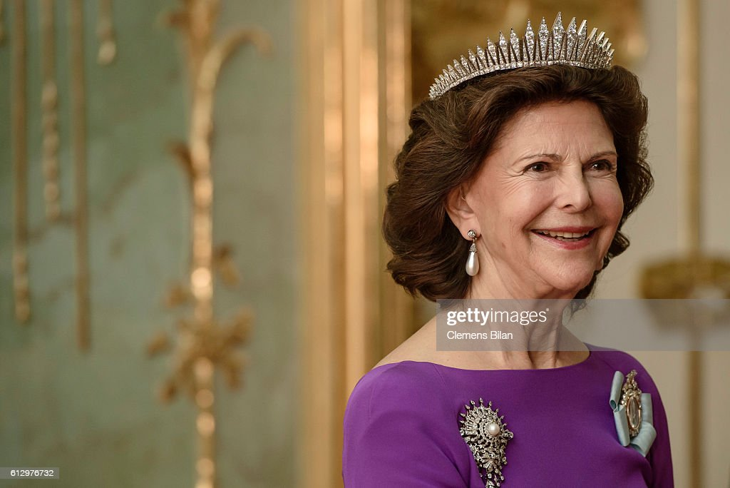 King Carl XVI Gustaf and Queen Silvia Visit Germany : News Photo