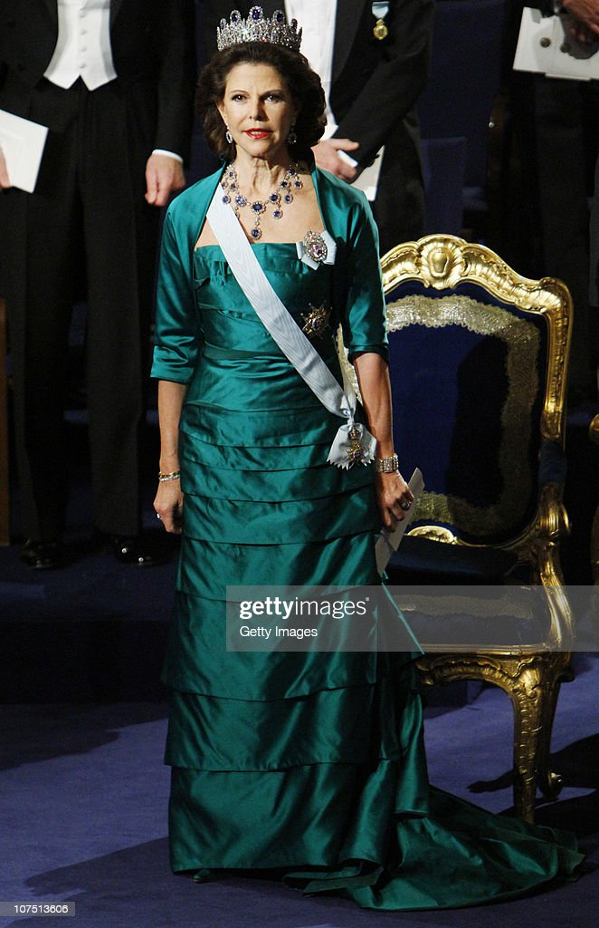Nobel Prize Award Ceremony 2010 : News Photo