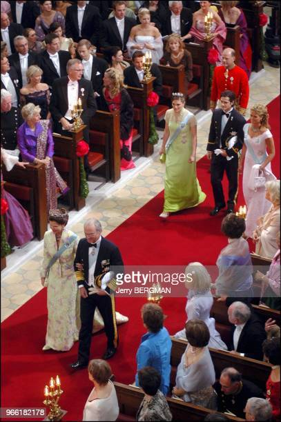 Queen Silvia King Carl Gustav princess Madeleine and Victoria and Prince Carl Philip