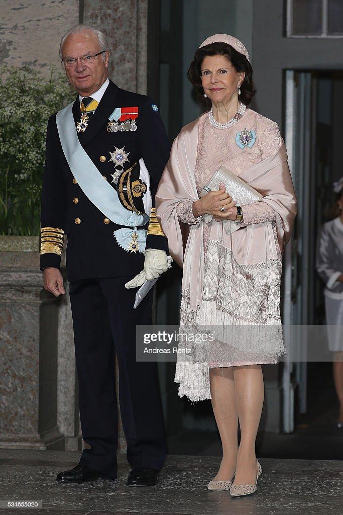 Christening of Prince Oscar of Sweden : Foto jornalística