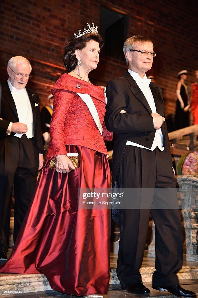 Nobel Prize Banquet 2015, Stockholm : News Photo