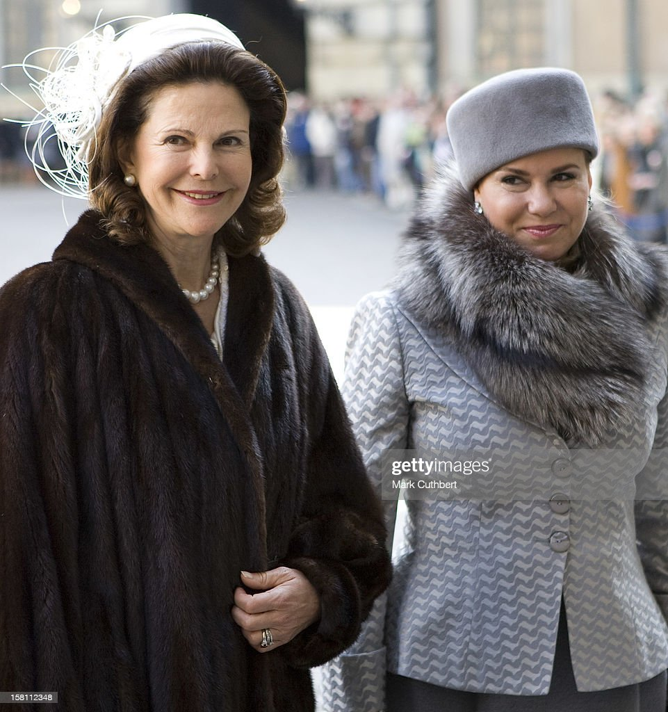 Luxembourg State Visit To Sweden : News Photo