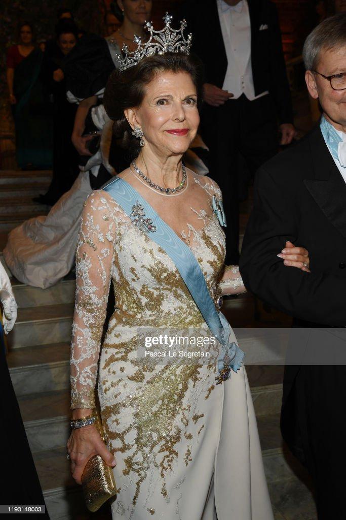 Nobel Prize Banquet 2019 In Stockholm : Fotografia de notícias