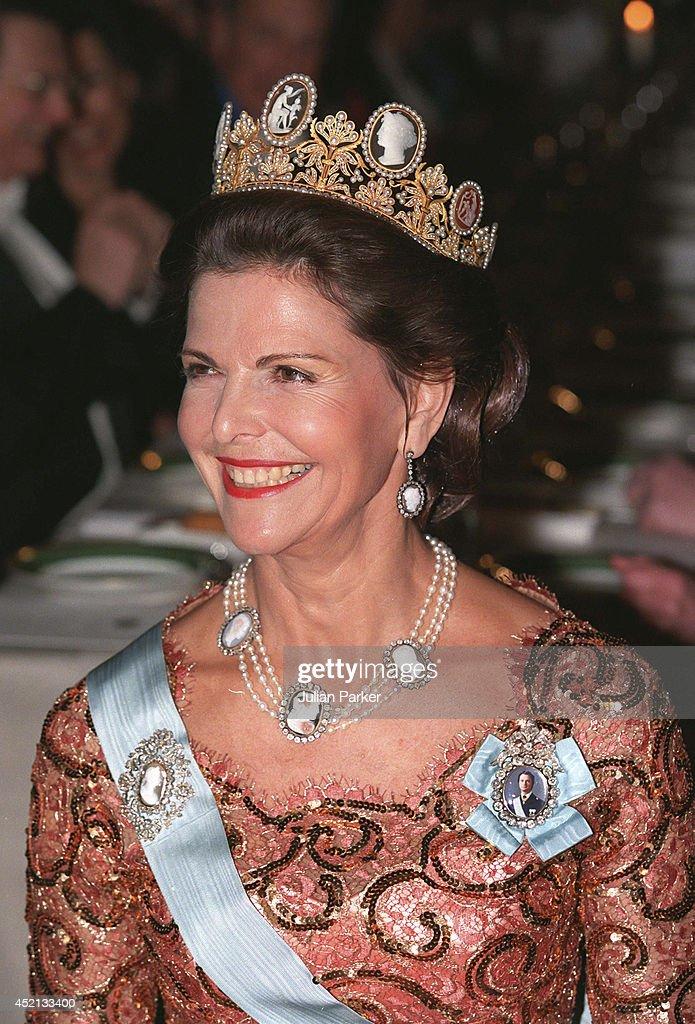 Nobel Banquet Stockholm 1998 : Fotografía de noticias