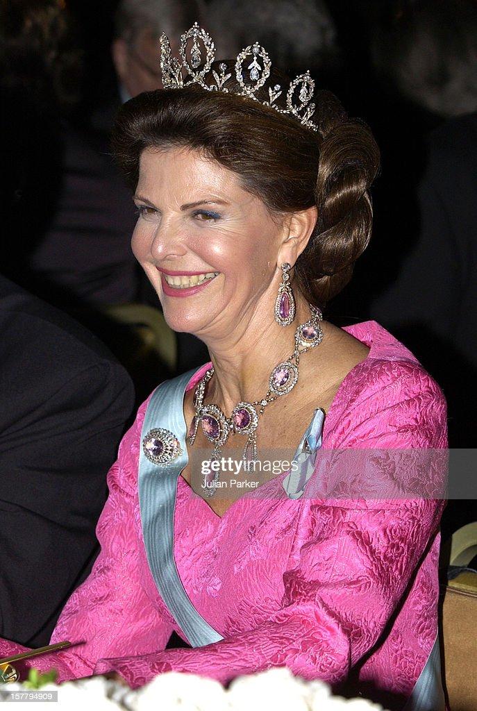 Nobel Prize Presentation Banquet In Sweden : News Photo
