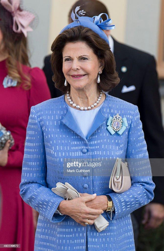 Christening of Prince Nicolas of Sweden : News Photo