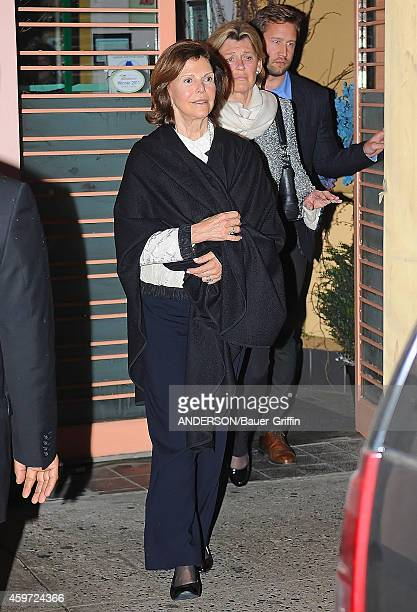 Queen Silvia of Sweden is seen on May 10 2012 in New York City